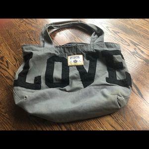 LOVE PINK 💝 tote bag